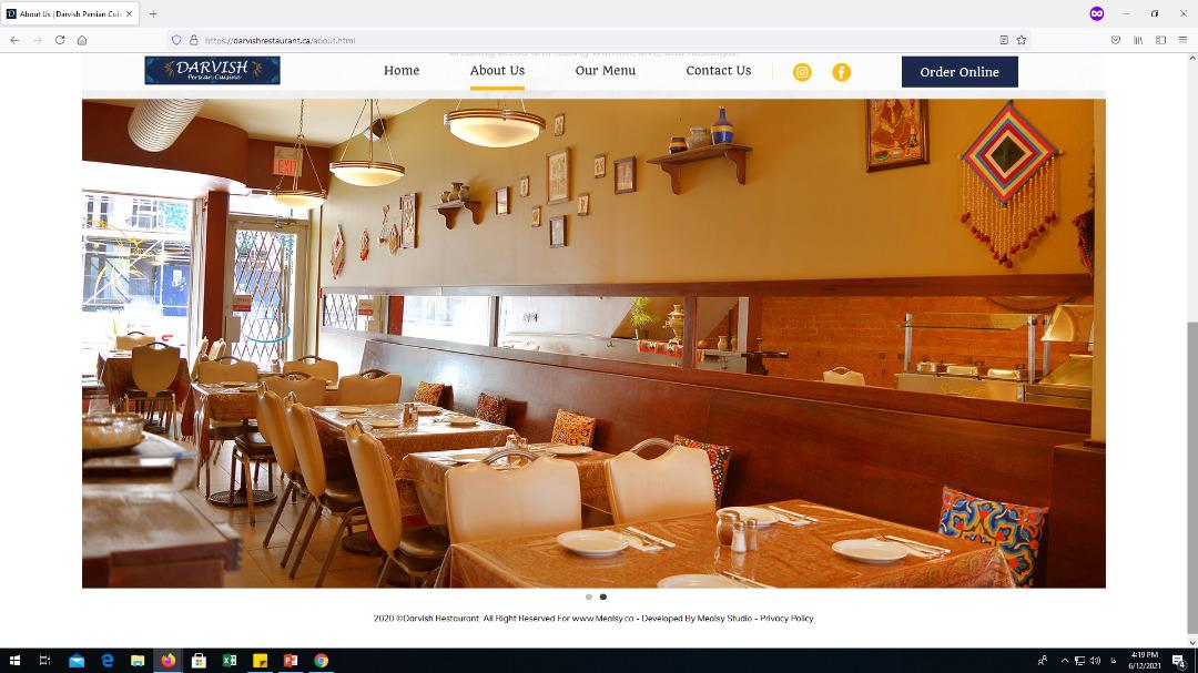 رستوران درویش کانادا ویزا724