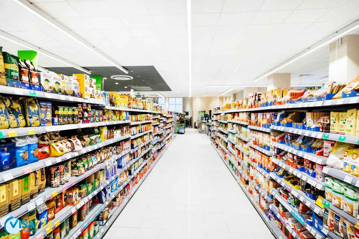 فروشگاه موادغذایی در کانادا