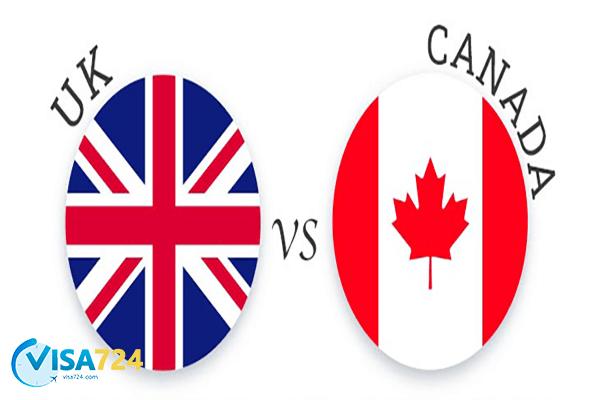 مقایسه کانادا و انگلستان