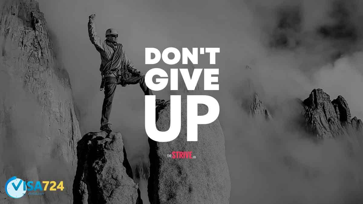 هرگز تسلیم نشوید!