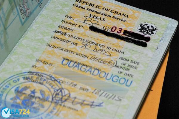 مدارک لازم برای ویزای توریستی غنا