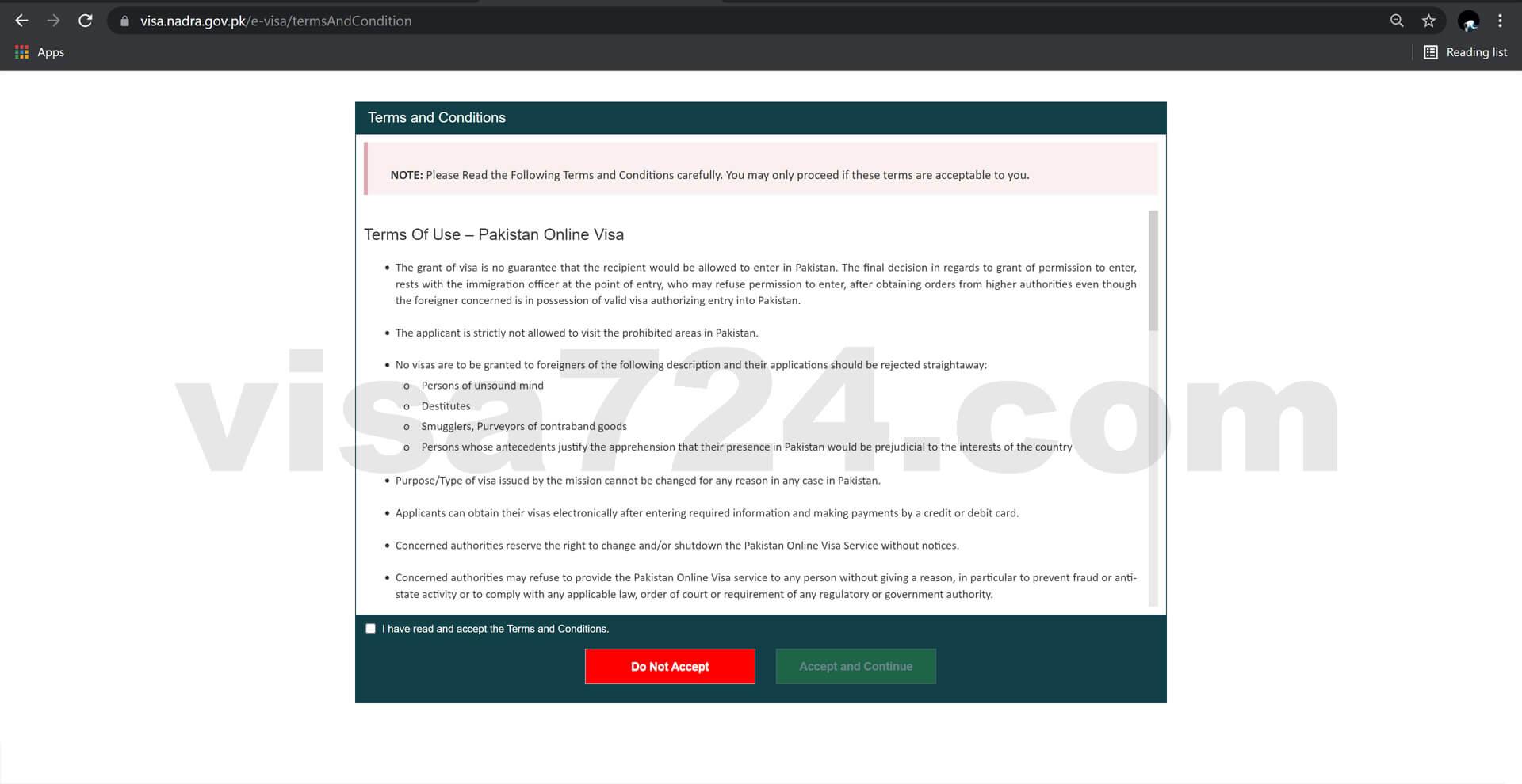 آموزش رایگان ثبت درخواست ویزای پاکستان