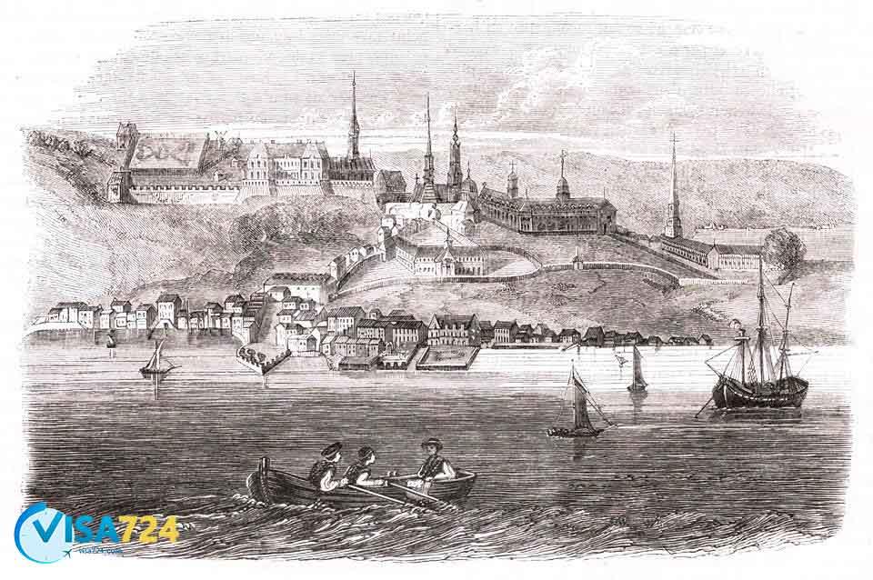 تاریخچه شهر کبک کانادا