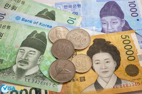 هزینه ویزای توریستی کره جنوبی