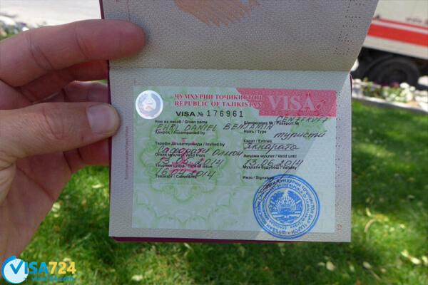ویزای توریستی تاجیکستان