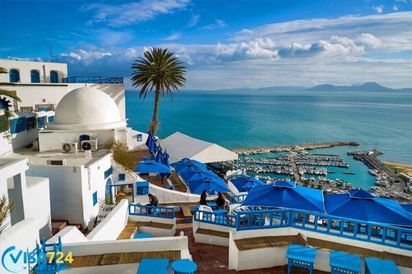 هزینه دریافت ویزای توریستی تونس