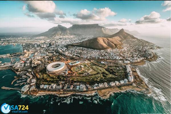 ویزای توریستی آفریقای جنوبی