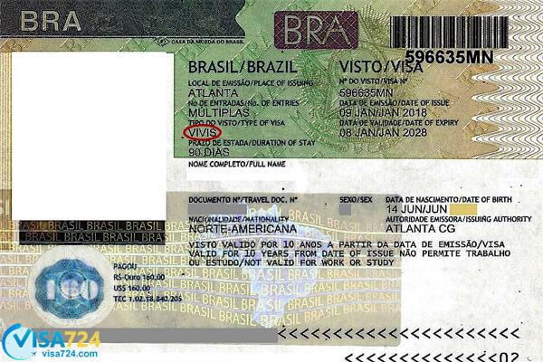 هزینه ویزای توریستی برزیل