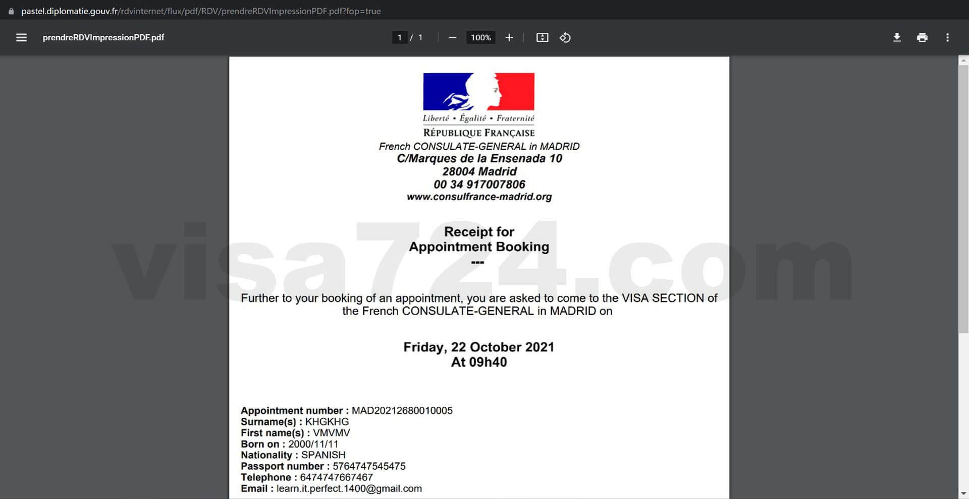 آموزش ثبت در خواست ویزای تحصیلی فرانسه