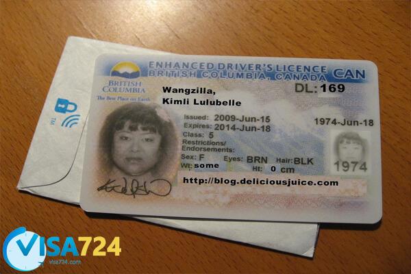 گواهینامه در کانادا