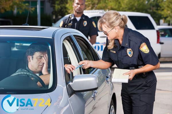 انواع جرائم رانندگی در کانادا