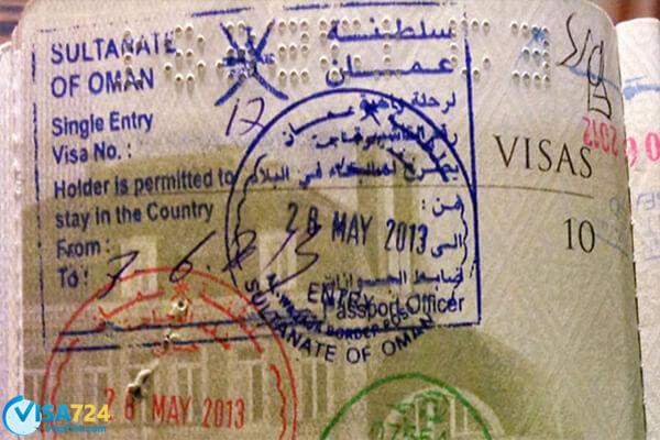 انواع ویزای عمان