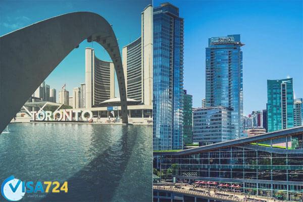 مقایسه تورنتو و ونکوور