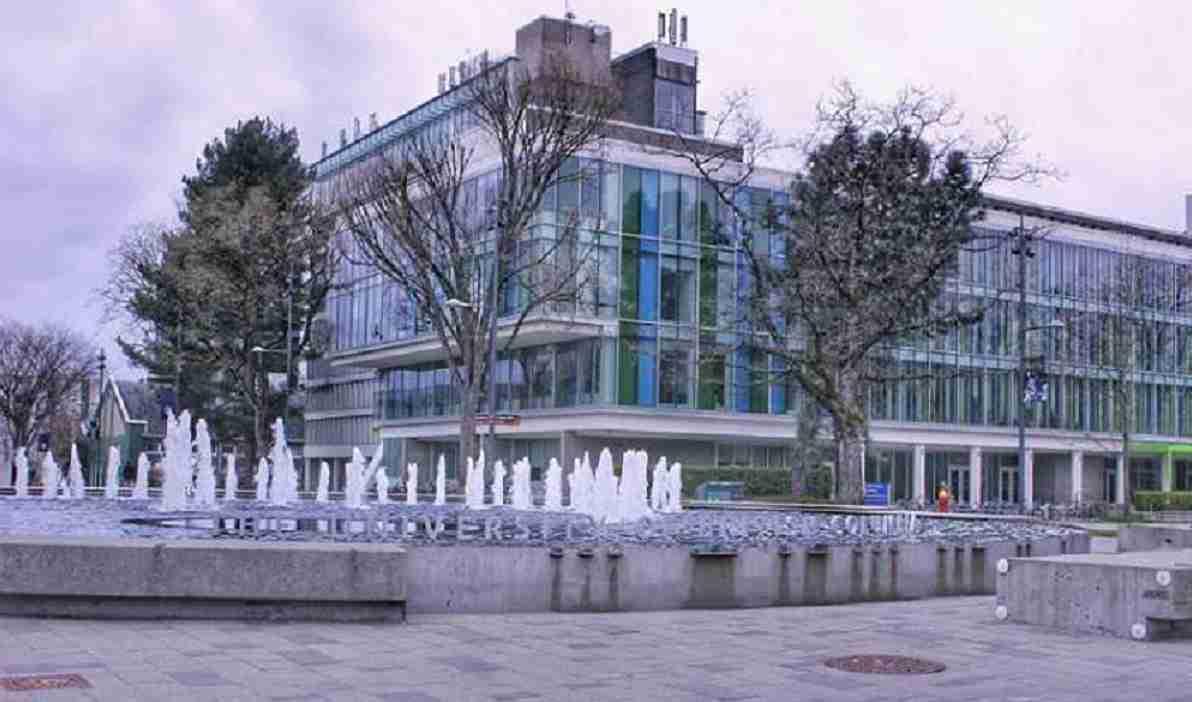 دانشگاه بریتیش کلمبیا - university of British Columbia