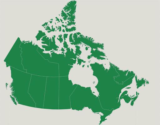 نقشه کانادا -ویزا 724