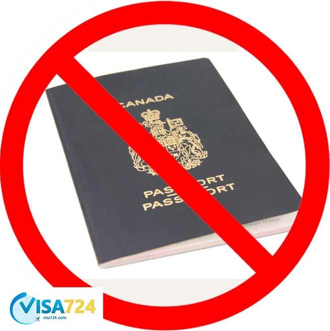 رد صلاحیت در دریافت شهروندی کانادا