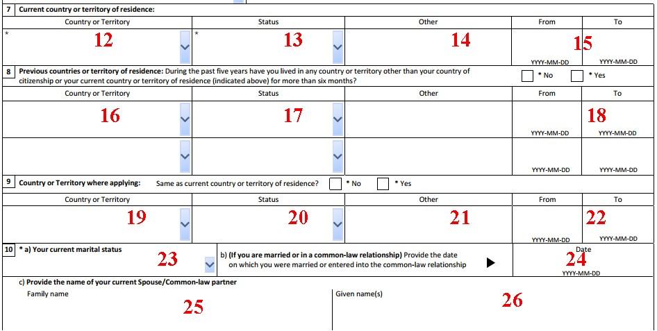 مراحل ثبت درخواست ویزای توریستی کانادا