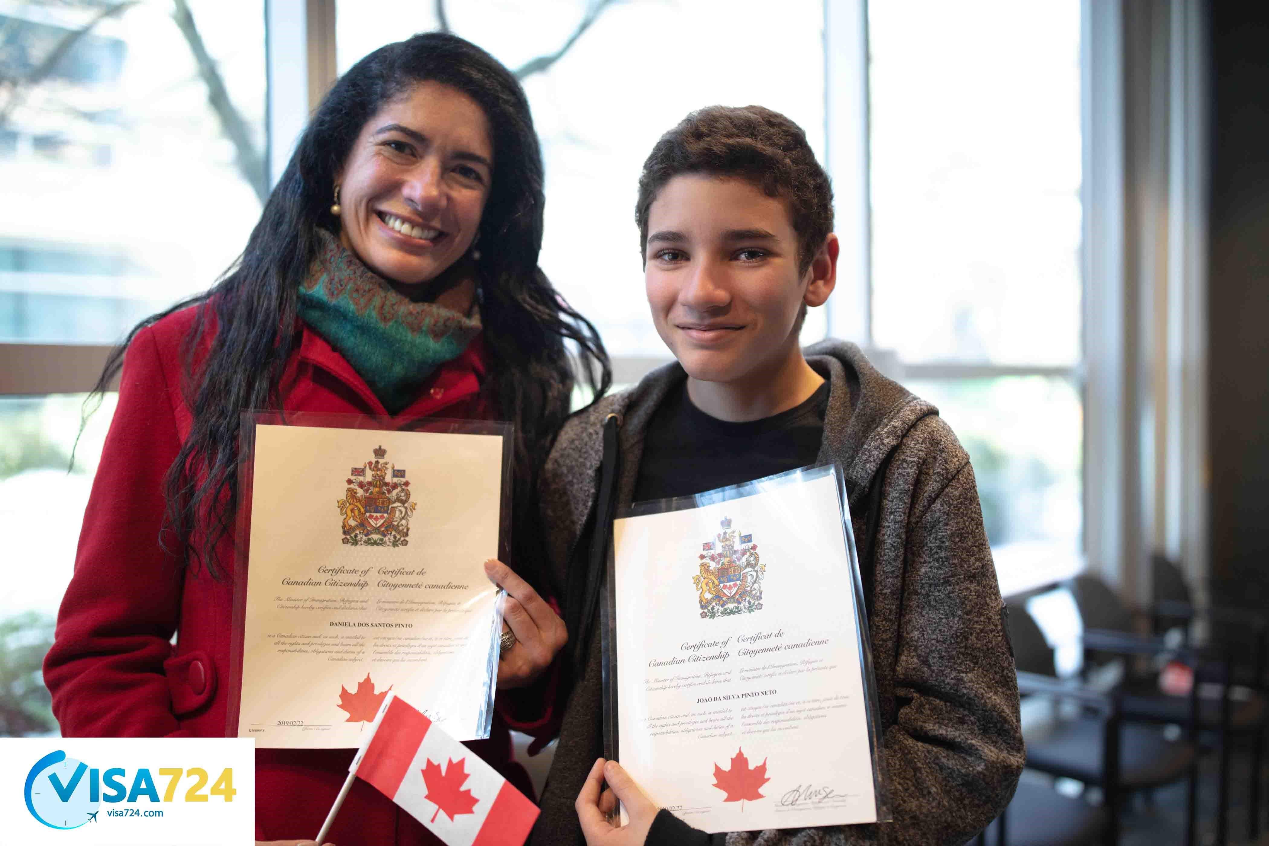 شرایط شهروندی در کانادا