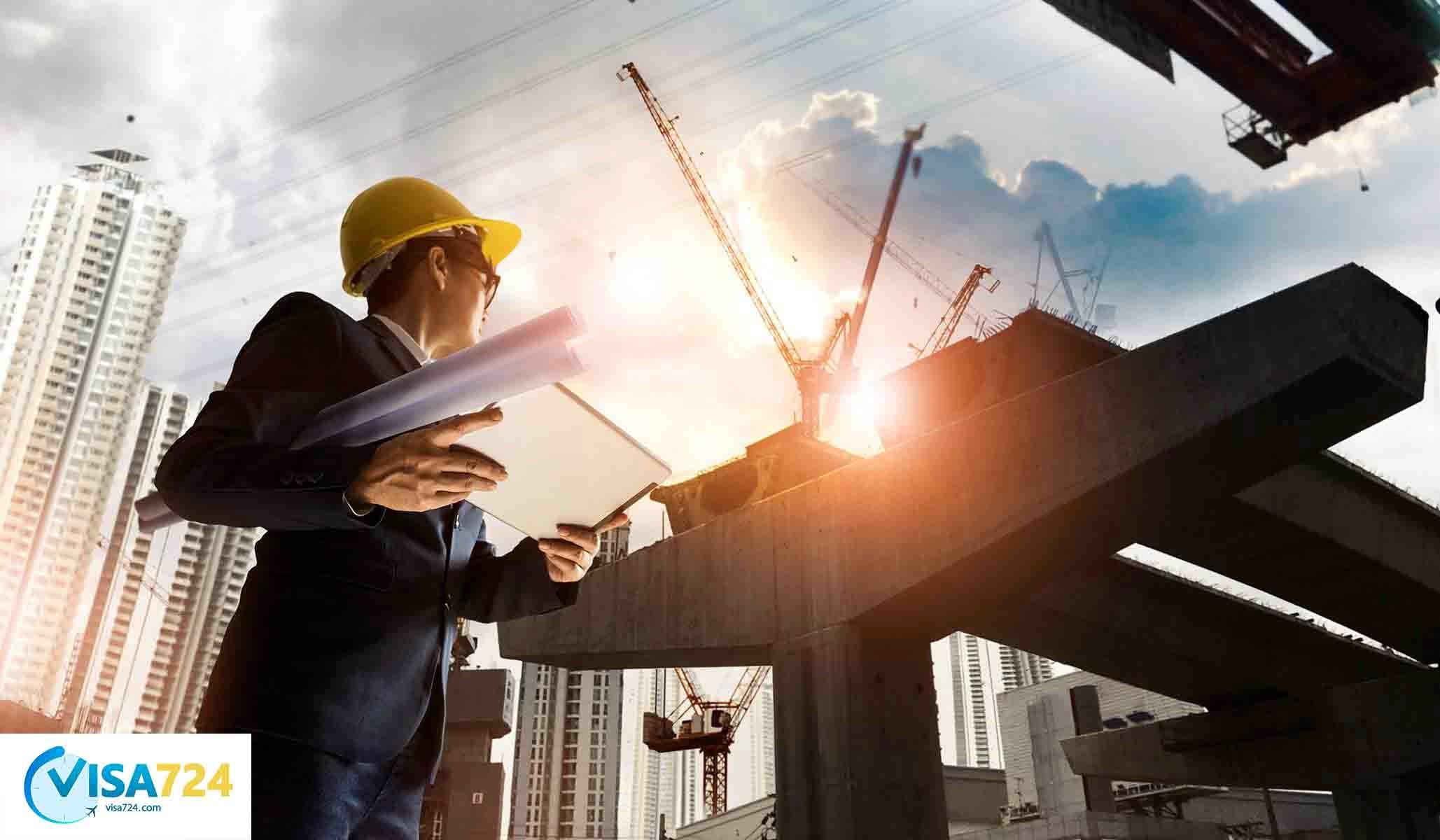 درآمد مدیر ساخت و ساز